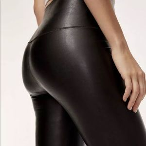 Wilfred free Daria faux leather leggings